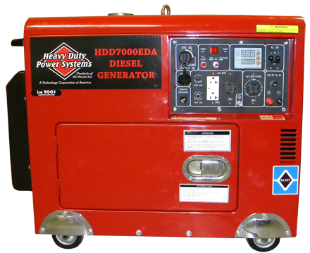 HDD7000EDA Diesel Generator<br /><strong>$6,460.00</strong>