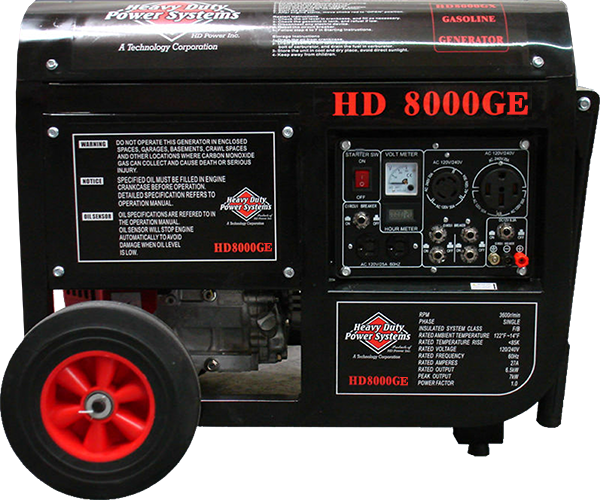 HD8000GE Gas Generator<br /><strong>$3,950.00</strong>