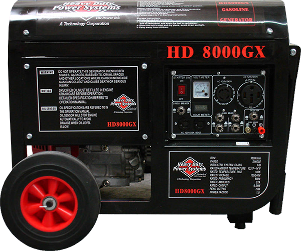 HDD8000GX Gas Generator<br /><strong>$2,950.00</strong>