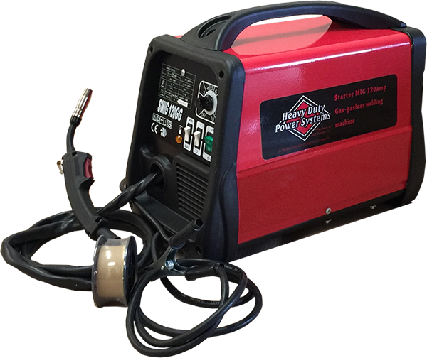 HDSMIG 120MIG Gas or Gasless Welder<br /><strong>$799.00</strong>